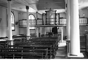 interieur prot kerk Ambon