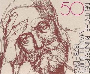 Martin Buber postzegel